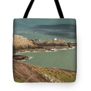 Jerbourg Point On Guernsey - 3 Tote Bag