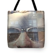 Jeremy In Shades Tote Bag