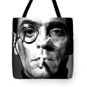Jeremy Irons Portrait Tote Bag