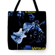 Jerry And Billy At Winterland Tote Bag