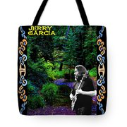 Jerry At Psychedelic Creek Tote Bag