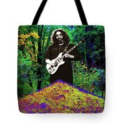 Jerry At The Cosmic Pyramid In The Woods  Tote Bag