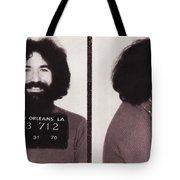 Jerry Garcia Mugshot Tote Bag