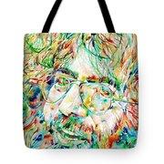 Jerry Garcia Watercolor Portrait.1 Tote Bag by Fabrizio Cassetta