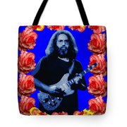 Jerry In Blue With Rose Frame Tote Bag