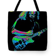 Jerry In Cheney On A Cosmic Day In 1978 Tote Bag