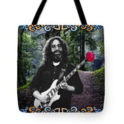 Jerry Road Rose 1 Tote Bag