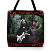 Jerry Road Rose 2 Tote Bag