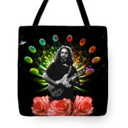Jerry Spacepods Ufo Roses 1 Tote Bag