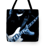 Jerry Stretches The Blues Tote Bag