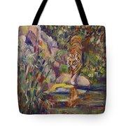 Jerrys Tiger Tote Bag