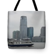 Jersey City Skyline Tote Bag