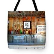 Jersey Lilly Saloon Tote Bag