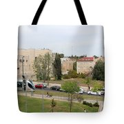 Jerusalem Near New Gate Tote Bag