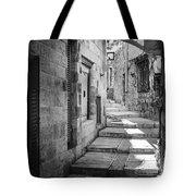 Jerusalem Street Tote Bag