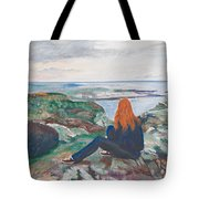 Jess In Ireland Tote Bag