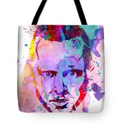 Jesse Breaking Bad Watercolor Tote Bag