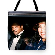 Jesse Jackson-roberta Flack 1989 Tote Bag