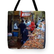 Jessie's Cooked Seafood  Tote Bag