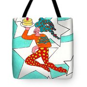 Jester With Cake Tote Bag