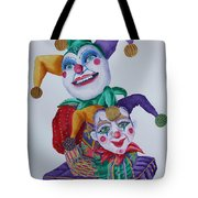 Jesters On Bourbon Street  Tote Bag
