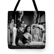 Jesus And Mary At The Curio Shop Tote Bag