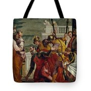 Jesus And The Centurion Tote Bag