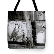 Jesus And The Gangster Tote Bag