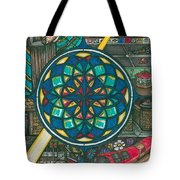 Jesus And The Hotdog Tote Bag