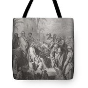 Jesus Blessing The Children Tote Bag