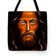 Brilliant Jesus Christ Portrait Tote Bag
