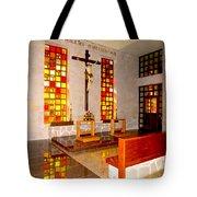 Jesus Christ Chapel Tote Bag