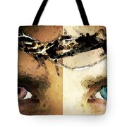 Jesus Christ - How Do You See Me Tote Bag by Sharon Cummings