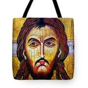 Jesus Christ Mandylion Tote Bag