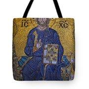 Jesus Christ Mosaic Tote Bag