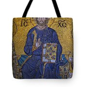 Jesus Christ Mosaic Tote Bag