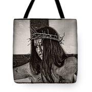 Jesus Christ Portrait Tote Bag