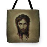 Jesus Christus Portrait By Martie Circa 1876 Tote Bag