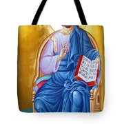 Jesus Holy Trinity Tote Bag