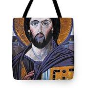Jesus Icon Tote Bag