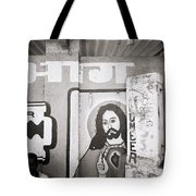 Jesus In Mumbai Tote Bag