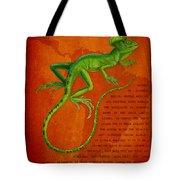 Jesus Lizard Tote Bag