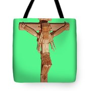 Jesus On The Cross In Mexico 1925 Tote Bag