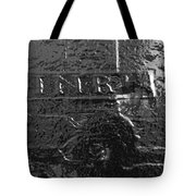 Jesus On The Cross Metal Sculpture Tote Bag