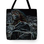 Jesus Preaching On The Mount Tote Bag