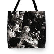 Jesus Press Conference 1966 Tote Bag