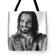 Jesus Smiling Tote Bag