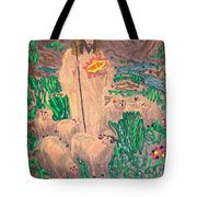 Jesus The Celebrity Tote Bag by Lisa Piper