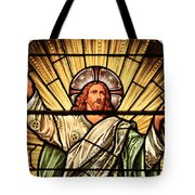 Jesus - The Light Of The Wold Tote Bag