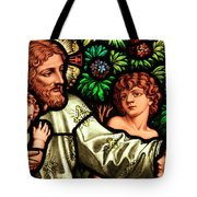 Jesus With Children Tote Bag